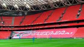 El Nuevo San Mamés, el estadio del Athletic Club de Bilbao.
