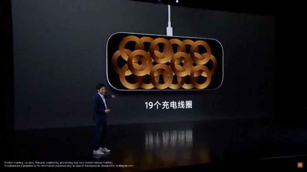 Base de carga inalámbrica de Xiaomi