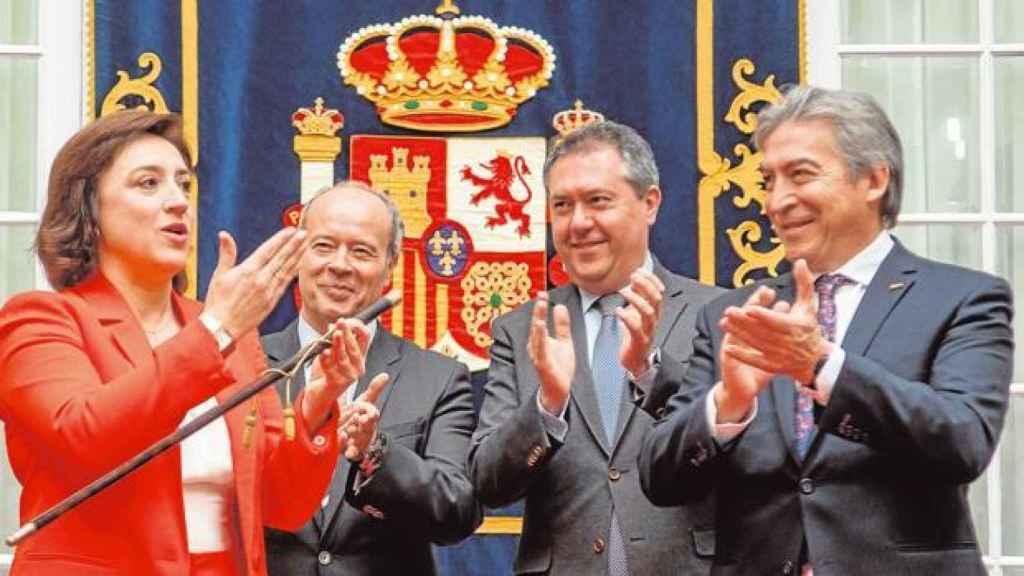 La delegada del Gobierno en Andalucía, Sandra García.