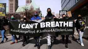 Las protestas por la muerte de George Floyd el día que empieza el juicio.