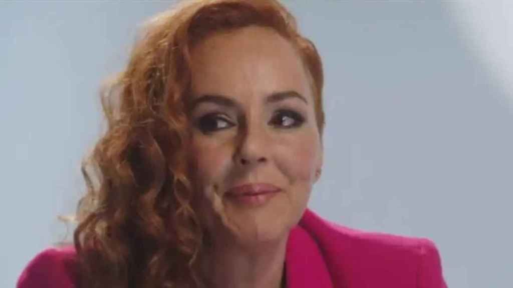 Rocío Carrasco no ha podido contener las lágrimas durante su relato.