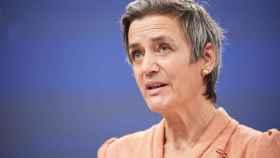 La vicepresidenta de la Comisión y responsable de Competencia, Margrethe Vestager