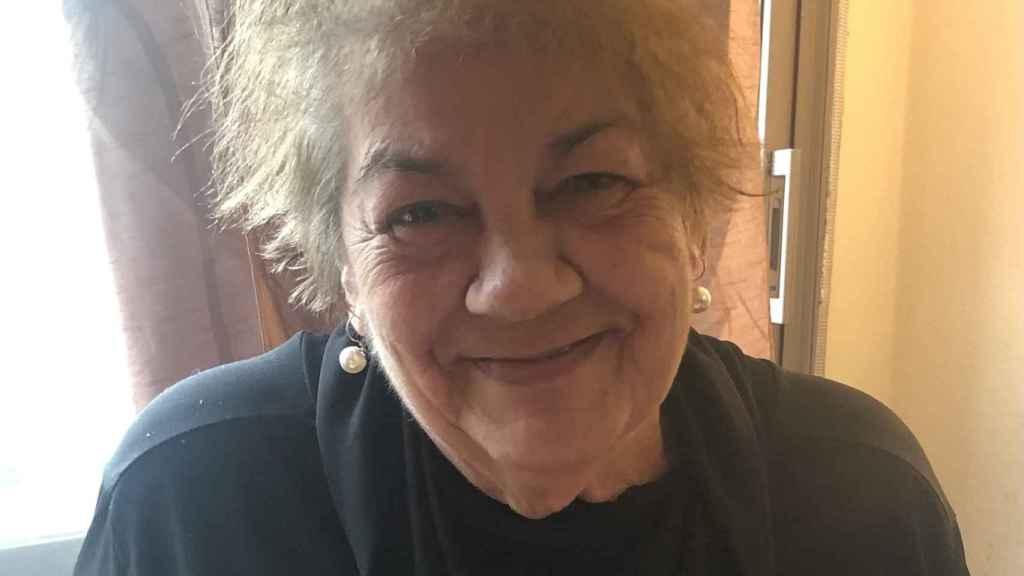 Carmen Gutiérrez es una de las primeras personas entre los 70 y 79 en recibir la vacuna de Moderna en España.