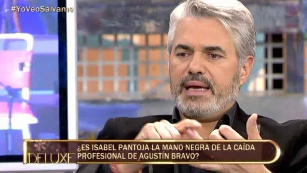 Agustín Bravo acusó a Isabel Pantoja de acabar con su carrera televisiva.