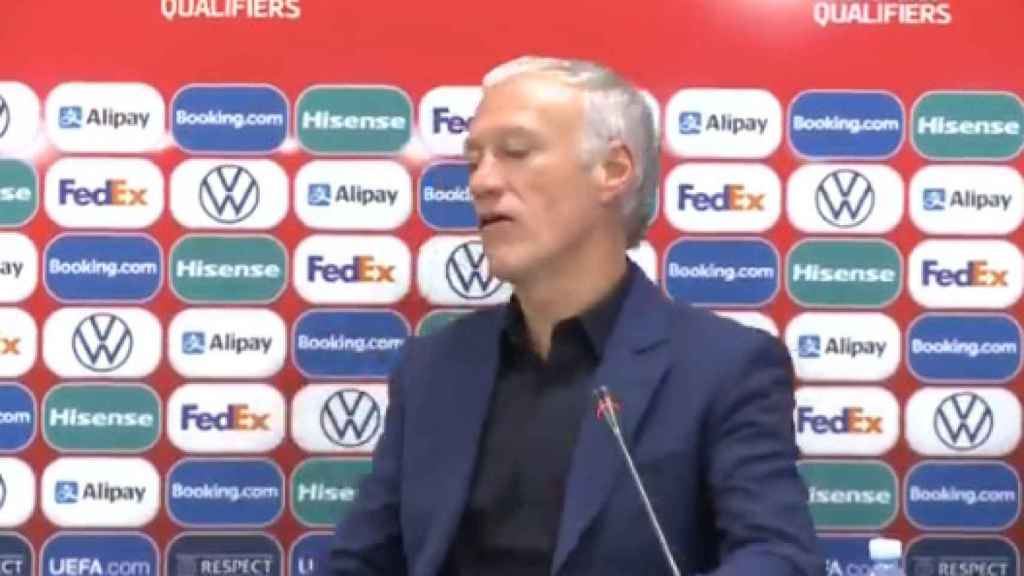 Deschamps reacciona tras una nueva pregunta sobre Benzema