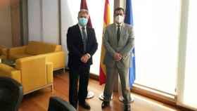 Pedro Casas (i) y Javier Úbeda (d)