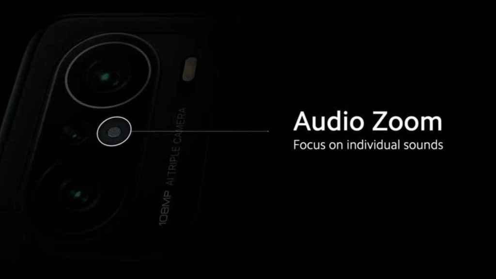 Micrófono en el Xiaomi Mi 11i