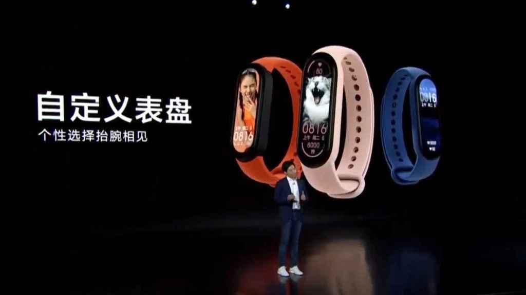 Así son las nuevas Xiaomi Mi Band 6.