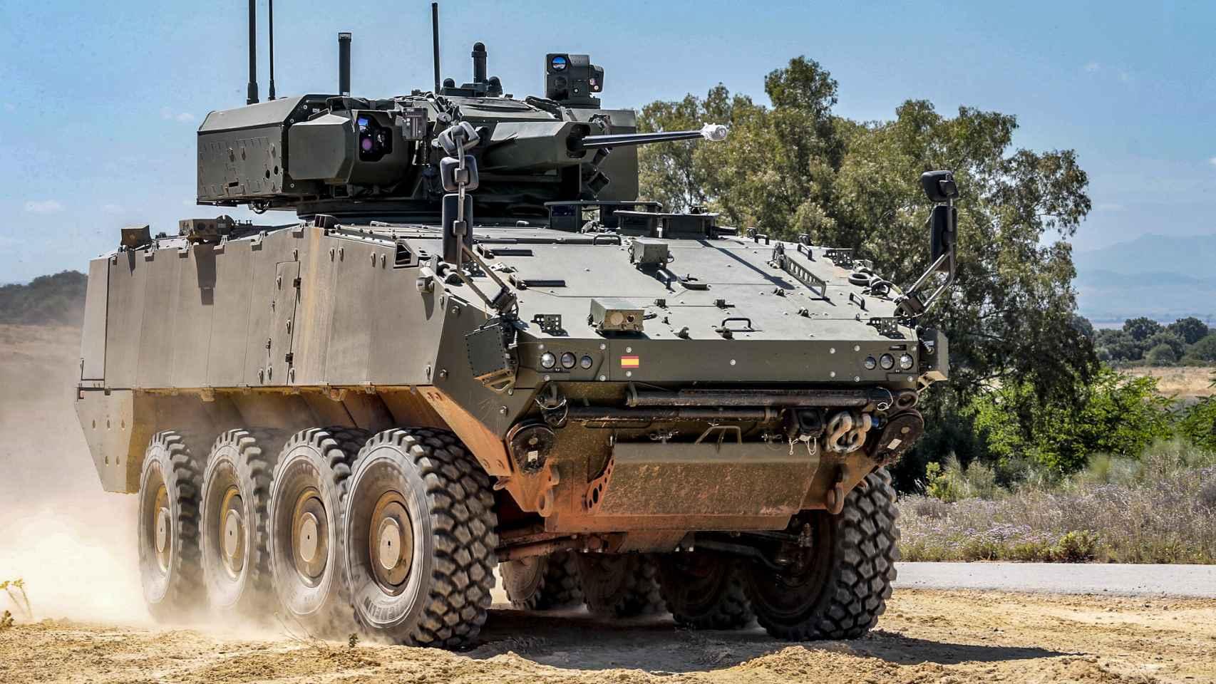 Dragón, el próximo blindado de España: misiles Spike, cañón de 30 mm y 100 km/h  569704351_176807182_1706x960