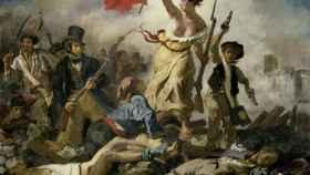 La libertad guiando al pueblo, de Eugène Delacroix (1830).