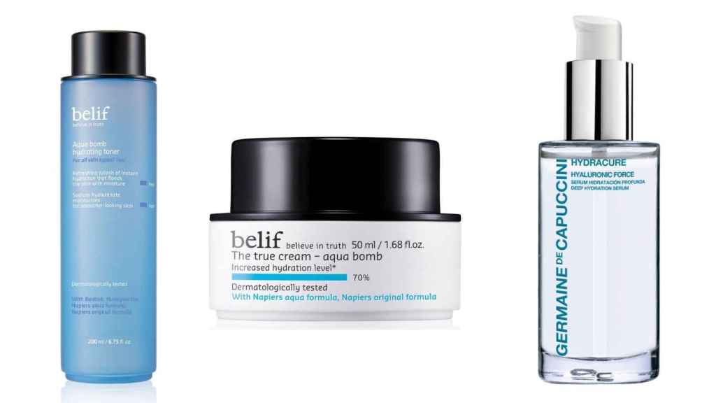 Facial care is one of the two fundamental steps of the 'Baby Face' trend