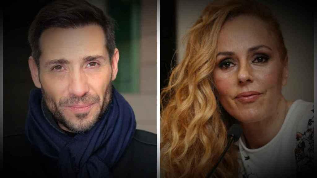 Antonio David Flores y Rocío Carrasco