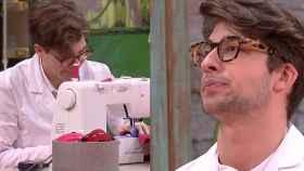 Ancor y Lluís en montaje de JALEOS durante su última prueba en 'Maestros de la costura'.