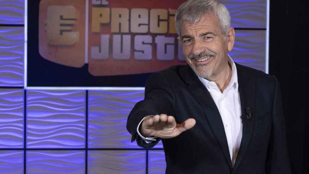 Carlos Sobera: Parece que hace falta tener un máster para ir a un concurso; en 'El Precio Justo', no
