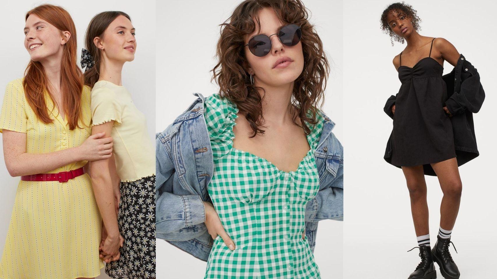 Los vestidos 'low-cost' de H&M que no querrás dejar escapar.