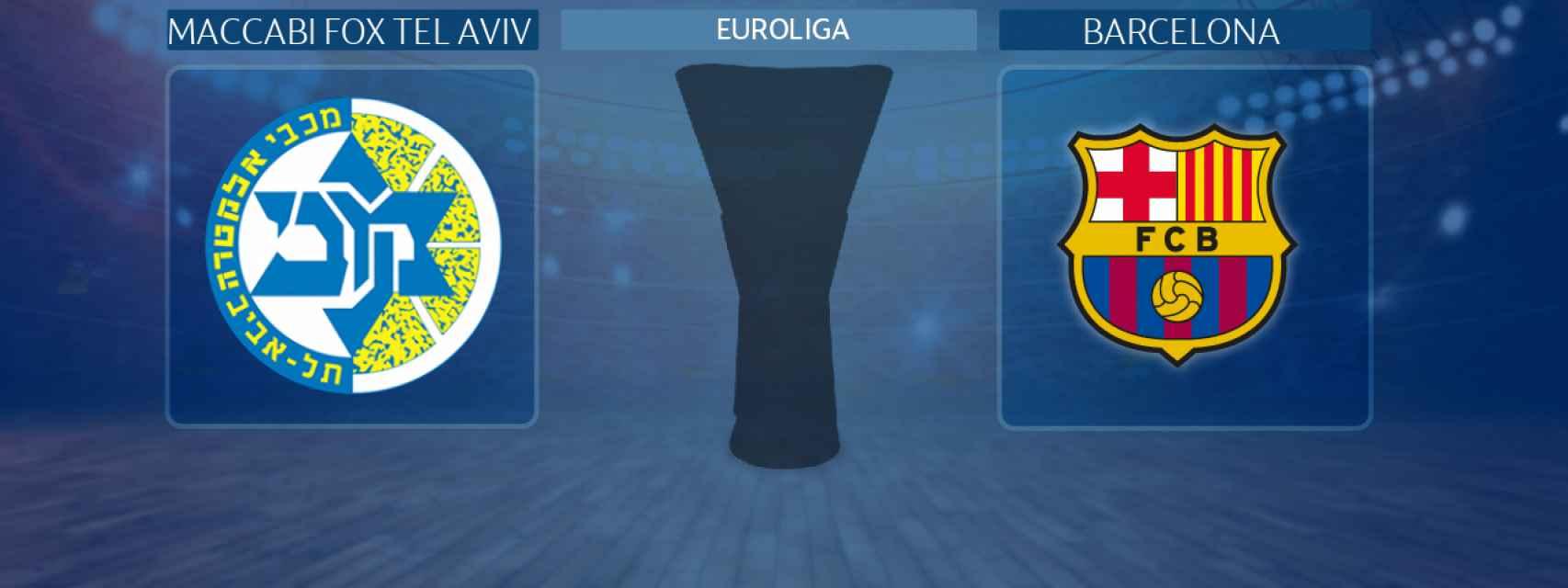 Maccabi Fox Tel Aviv - Barcelona, partido de la Euroliga