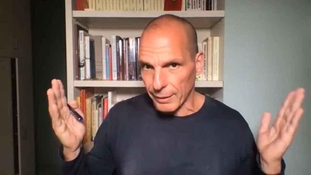 Yanis Varoufakis, durante su entrevista con este periódico.