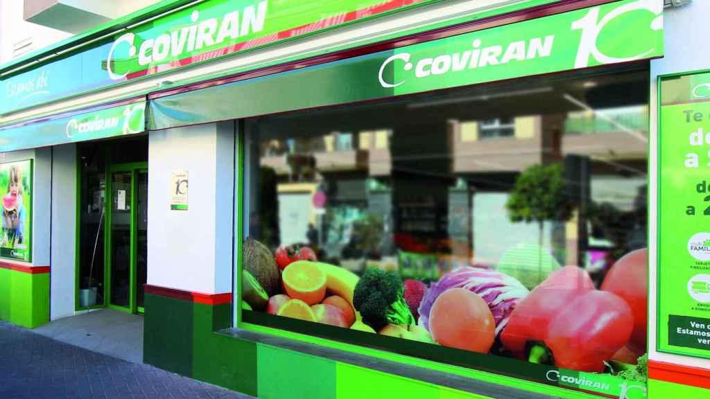 Establecimiento de Covirán.