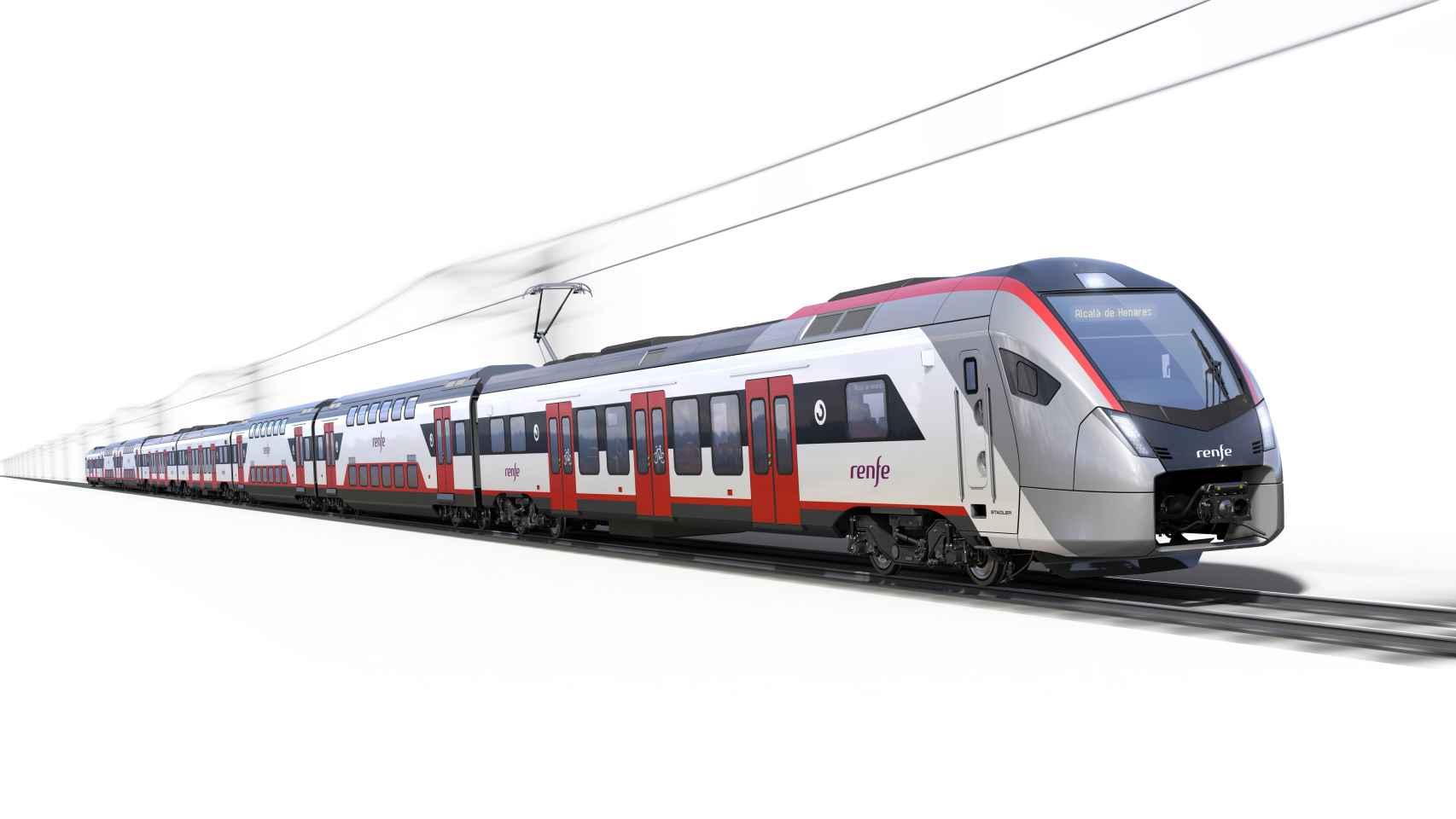 Así es la nueva generación de trenes de Cercanías