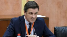 El director general de Asaja Andalucía, Félix García de Leyaristy.