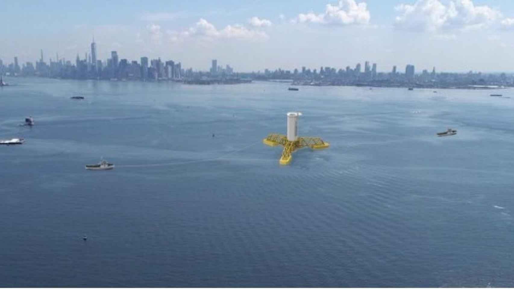 Imagen de  proyecto Empire Wind en Nueva York.