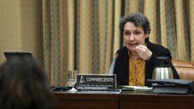 Beatriz Gimeno en el Congreso, en una imagen de archivo.