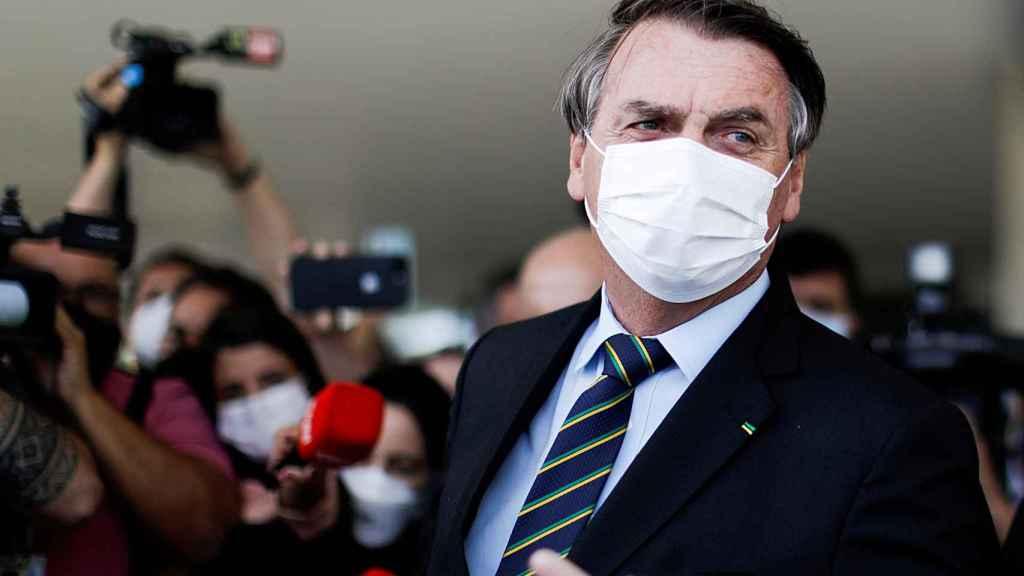 El presidente de Brais, Jair Bolsonaro, en una imagen de archivo.