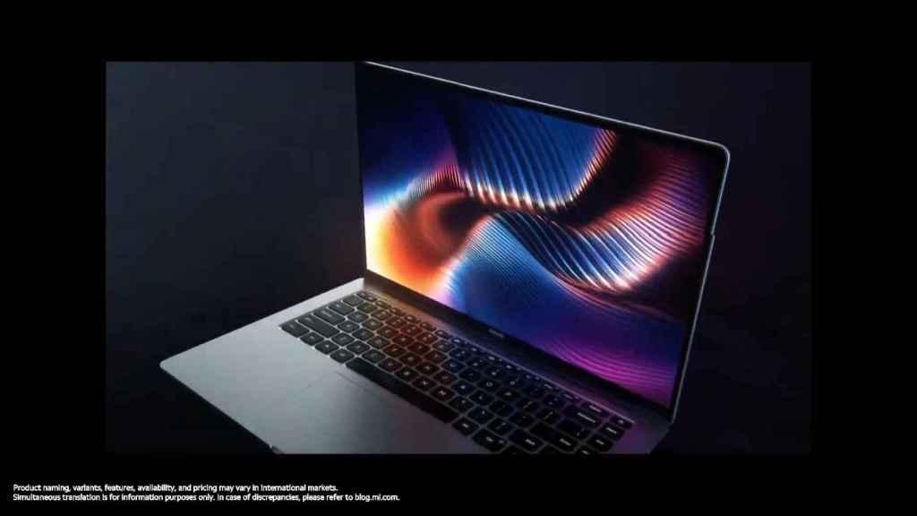 Nuevo Xiaomi Mi Laptop Pro