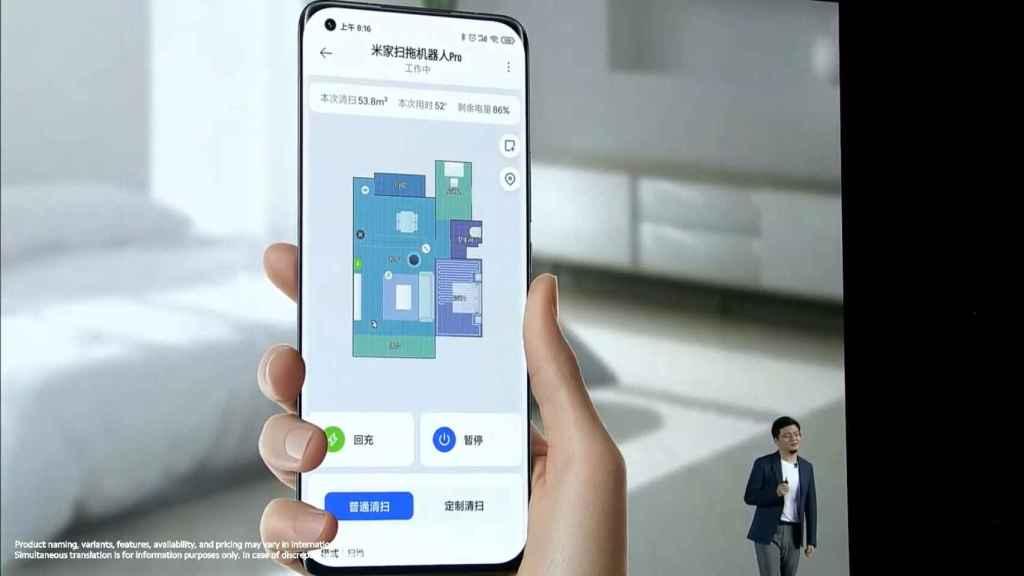 El robot aspirador de Xiaomi sabrá dónde está