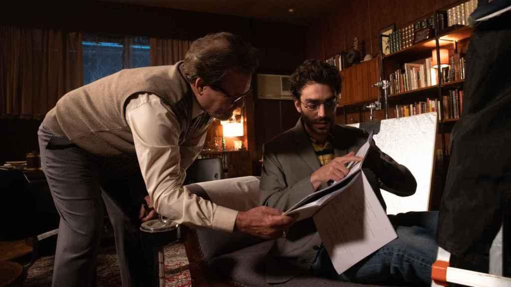 Jorge Perugorría y Nacho Sánchez en 'Doctor Portuondo'.