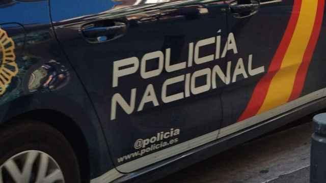 Vehículo de Policía Nacional.