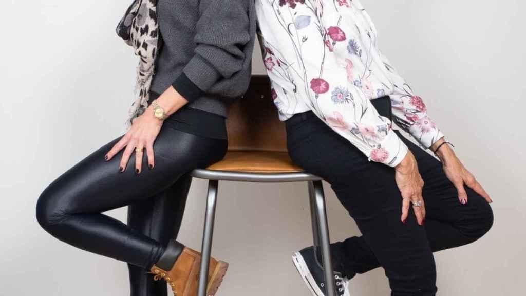 Gladys y Lara.