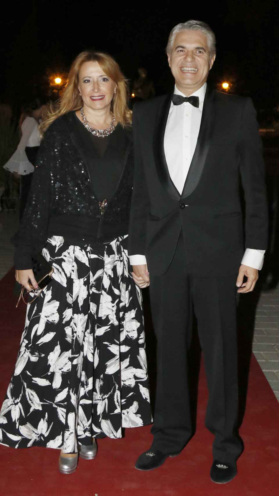 Agustín y su mujer en una imagen de archivo.