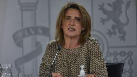 La vicepresidenta cuarta del Gobierno y ministra para la Transición Ecológica y el Reto Demográfico, Teresa Ribera.