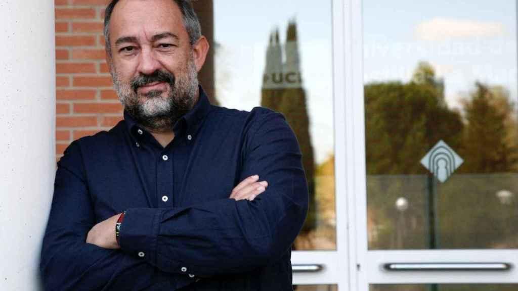 José Julián Garde, rector de la Universidad de Castilla-La Mancha.