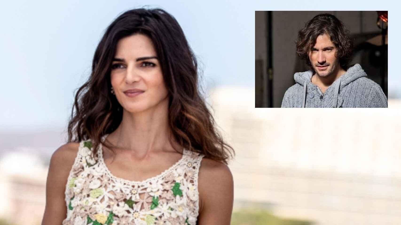Clara Lago en montaje de JALEOS junto a su nueva pareja, José Lucena.
