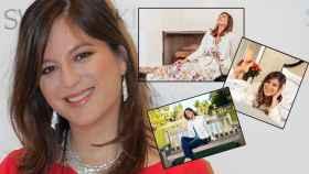 Chábeli Iglesias en un montaje de JALEOS con varias imágenes de su cuenta de Instagram.