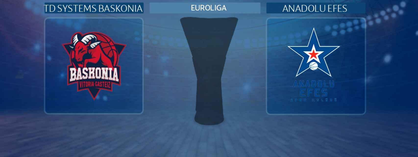 TD Systems Baskonia - Anadolu Efes, partido de la Euroliga