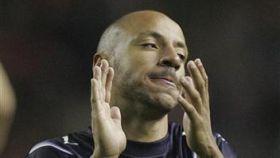 Faubert durante un partido con el West Ham