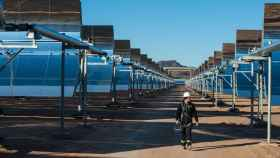 Campo solar de Abengoa en Arizona (EEUU)