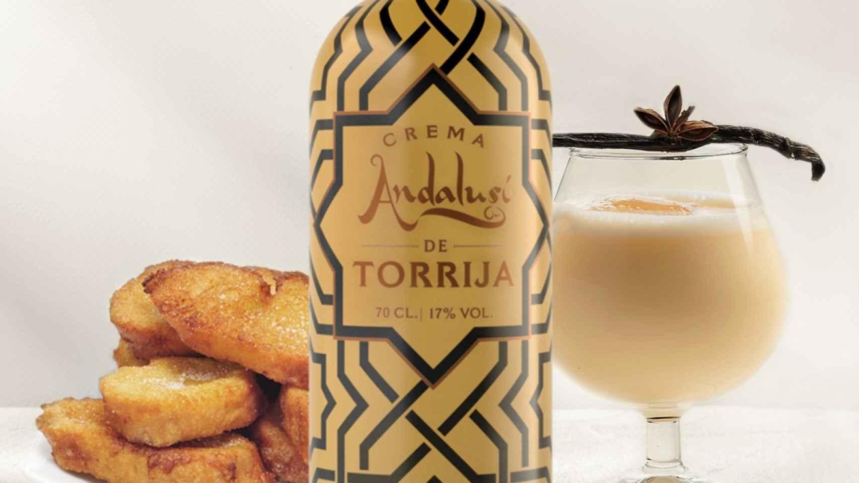Crema de torrija de Andalusí Beverages.
