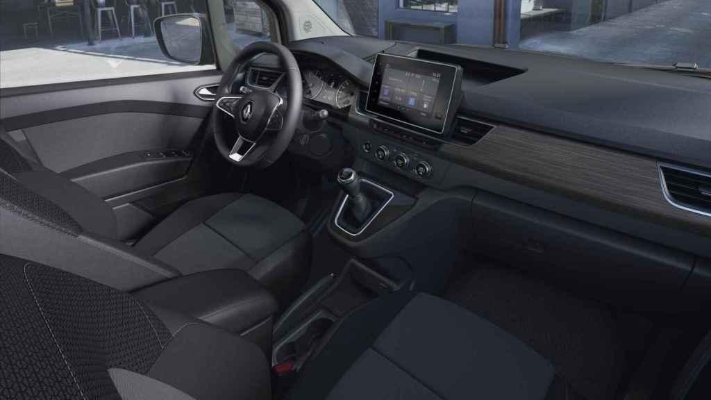 Interior del Renault Kangoo Combi.