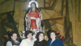 Las fundadoras de la cofradía de La Magdalena en Albacete.
