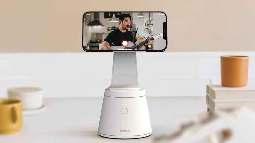 Así es el nuevo soporte para iPhone de Belkin.