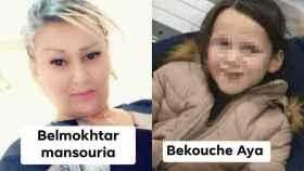 Mansouria y Aya, madre e hija, desaparecidas en la patera que se hundió en Mazarrón.