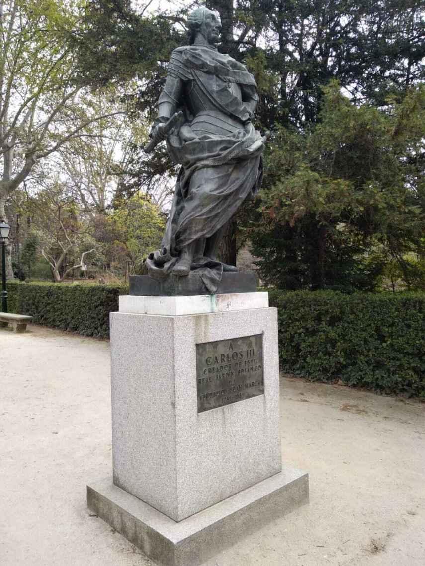 Estatua de Carlos III.