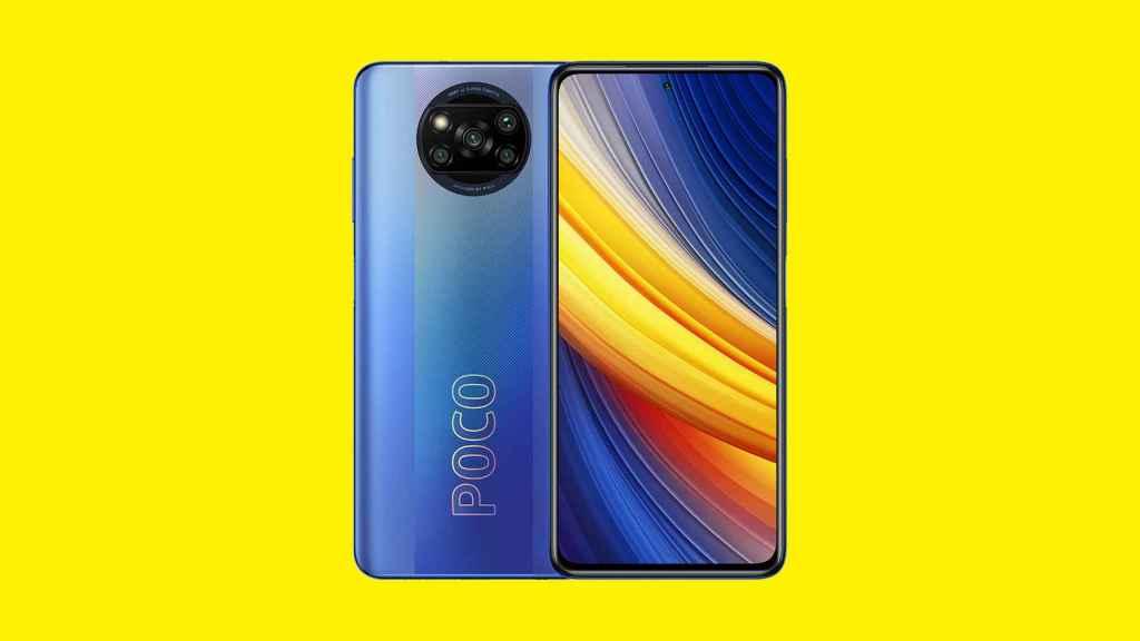 X3 Pro en color azul.
