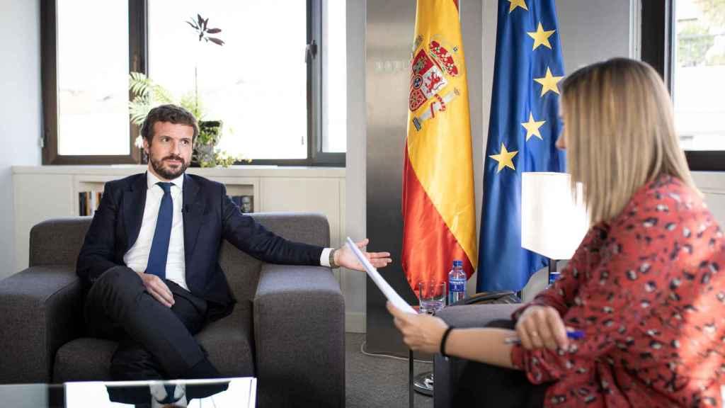 Pablo Casado: Somos necesarios y vamos a llegar al Gobierno muy pronto.