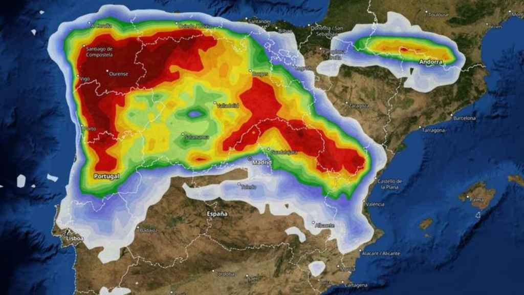 El Viernes Santo habrá una alta probabilidad de que aparezca la lluvia en muchas regiones. Meteored.