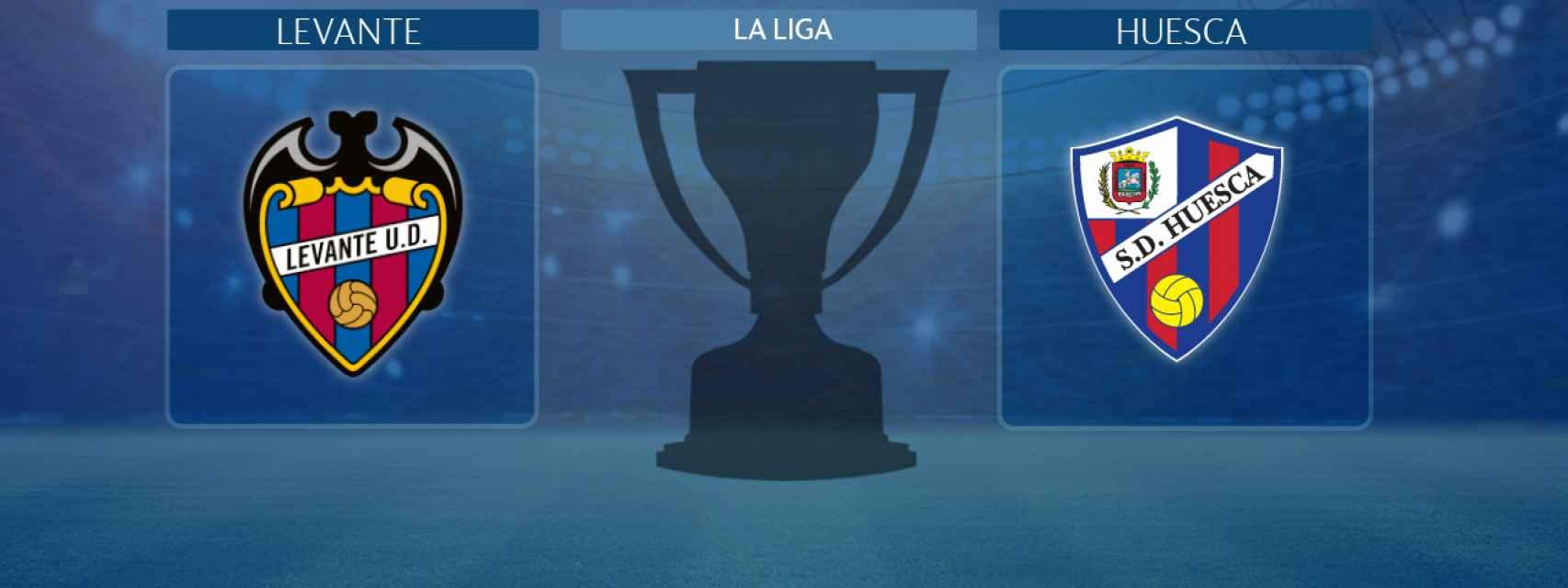 Levante - Huesca, partido de La Liga